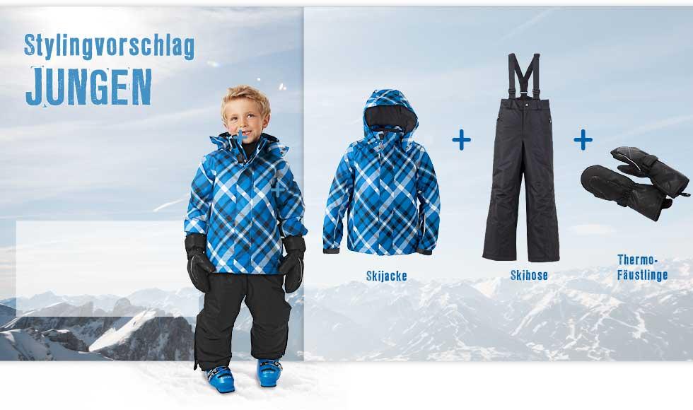Skijacke-Skihose